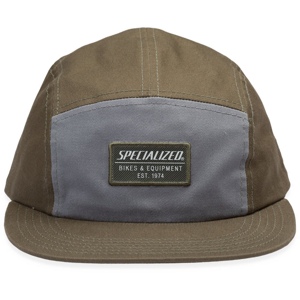Specialized New Era 5 Panel Hat - GN/GY