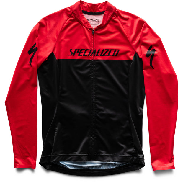 Specialized SL Air Jersey Women Long Sleeve - Black/Red