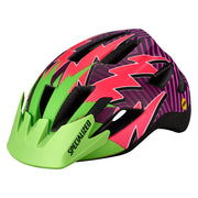 Specialized Shuffle Led Standard Buckle Helmet Mips - Green/Pink