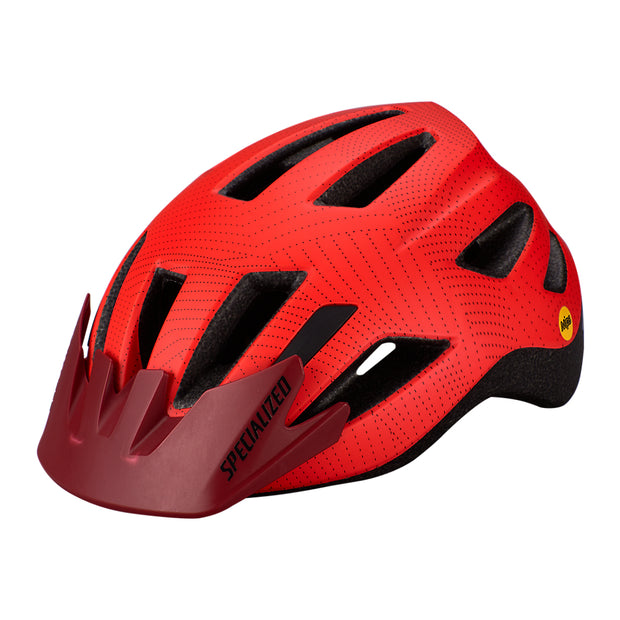 Specialized Shuffle Led Standard Buckle Helmet Mips - Red/Crimson