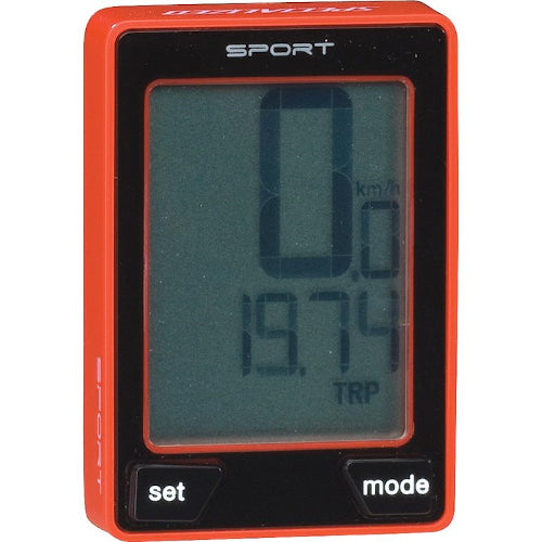Specialized Speedzone Sport Wireless Computer - Red