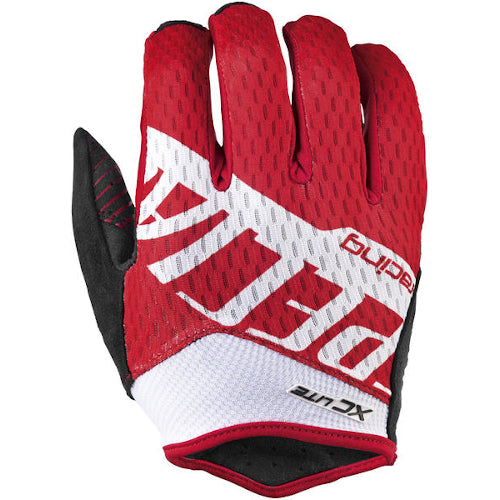 Specialized XC Lite Gloves Long Finger - Red/White