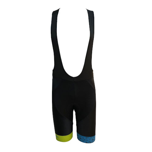Spero Cycling Bib Short - Green/Blue