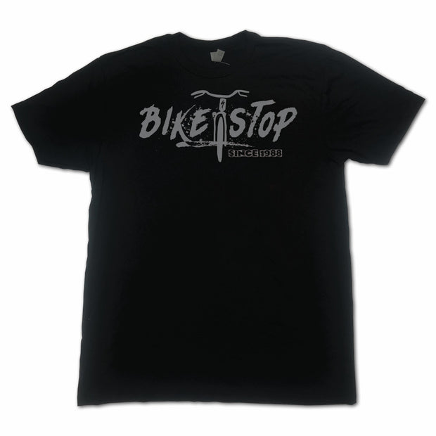 T-Shirt Bike Stop Horizontal W - Gray