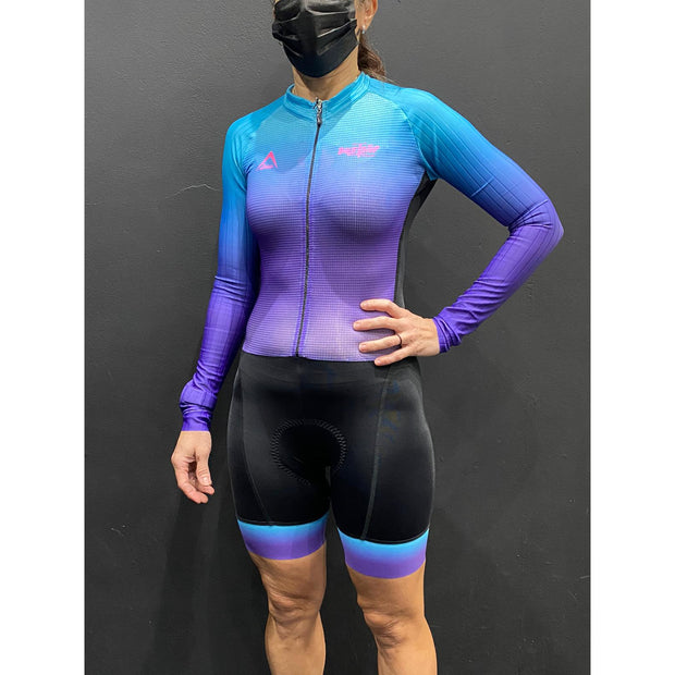 Zerie Full Suit - Purple/Blue
