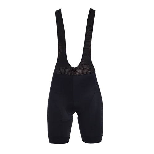 Zerie Men Basic Bib Short Black  - MEN
