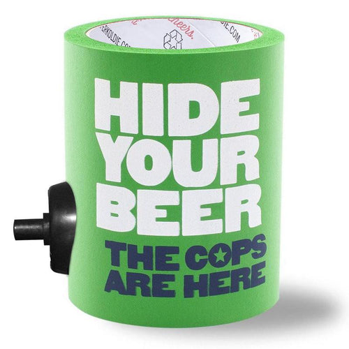 HIDE YOUR BEER FOAM KOLDIE [*SECOND] w/ PARTY BUTTON