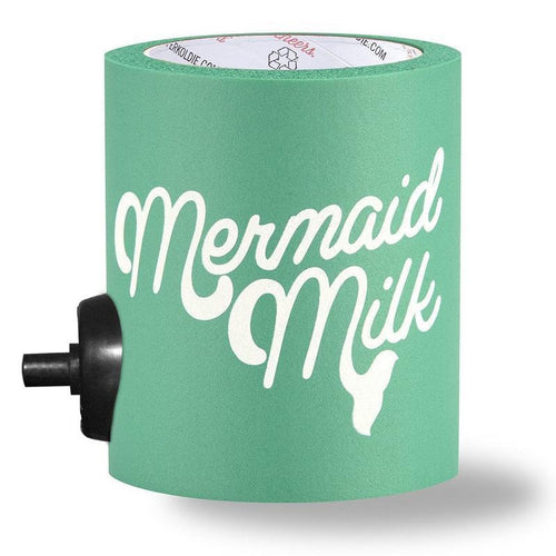 MERMAID MILK FOAM KOLDIE w/ BEERGUNNER - PARTY BUTTON