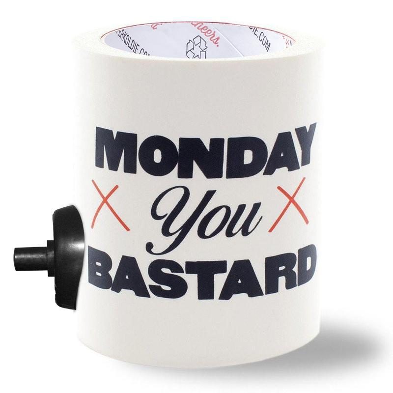 MONDAY YOU BASTARD w/ BEERGUNNER - PARTY BUTTON