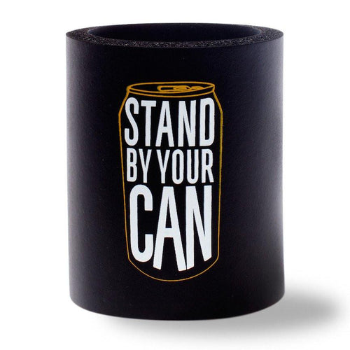 Beer Can Cooler - STAND BY YOUR CAN FOAM KOLDIE - SUPERKOLDIE black
