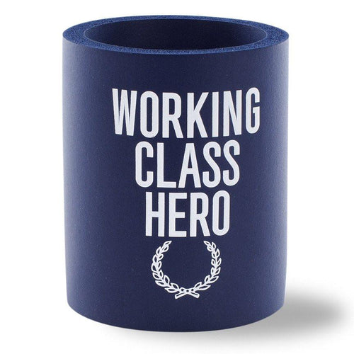 Beer Can Cooler - WORKING CLASS HERO FOAM KOLDIE - SUPERKOLDIE navy