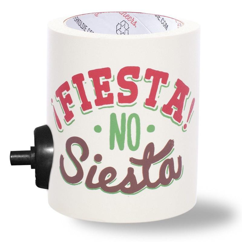 FIESTA NO SIESTA FOAM KOLDIE [*SECOND] w/ PARTY BUTTON