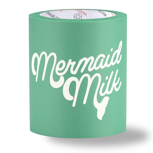 MERMAID MILK FOAM KOLDIE- Beer Can Cooler - SUPERKOLDIE Turquoise