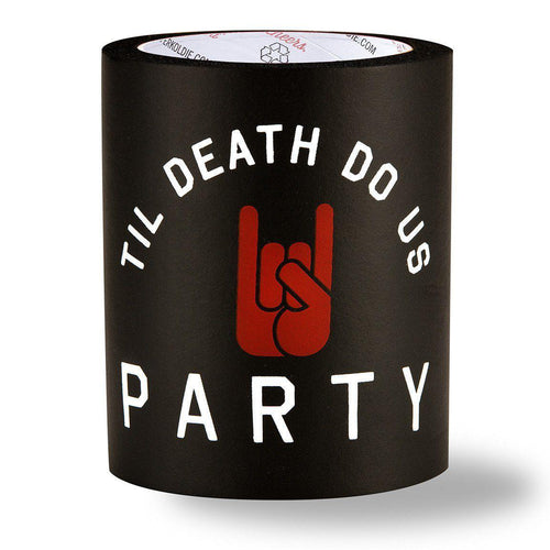 TIL DEATH DO US PARTY FOAM KOLDIE-Can Cooler-SUPERKOLDIE