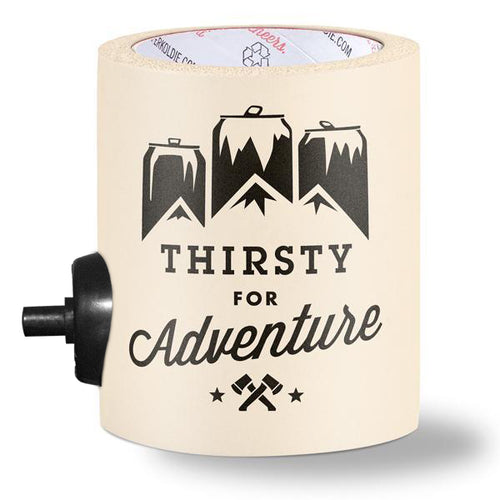 THIRSTY FOR ADVENTURE w/ BEERGUNNER - PARTY BUTTON