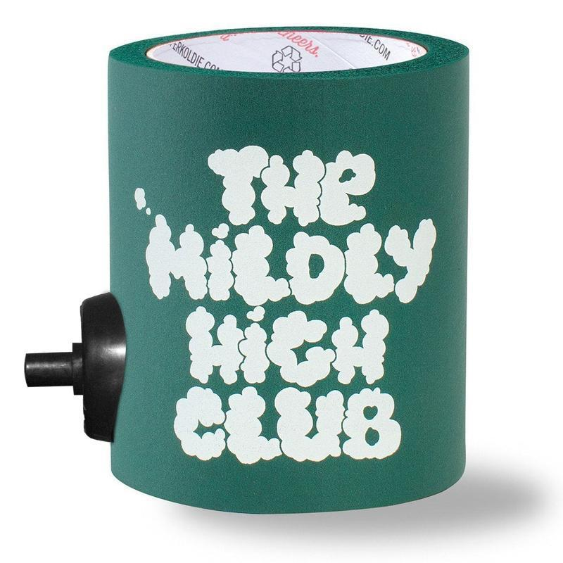 MILDLY HIGH CLUB FOAM KOLDIE w/ BEERGUNNER - PARTY BUTTON