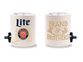 MILLER LITE BRAND OF BROTHERS FOAM KOLDIE  w/ PARTY BUTTON