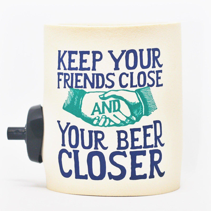 KEEP YOUR FRIENDS CLOSE KOLDIE [*SECOND] w/ PARTY BUTTON