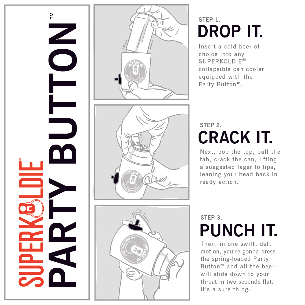 PARTYBUTTON™ | CAN COOLER ADD-ON UPGRADE