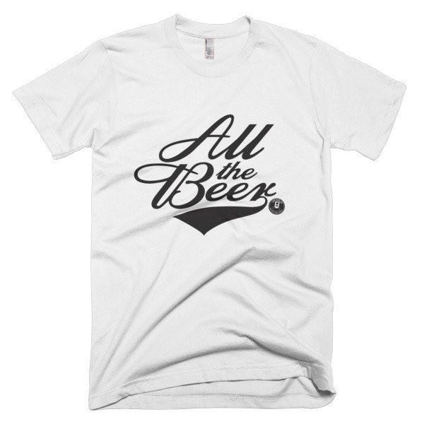 ALL THE BEER MEN'S TEE-Tees-White-S-SUPERKOLDIE