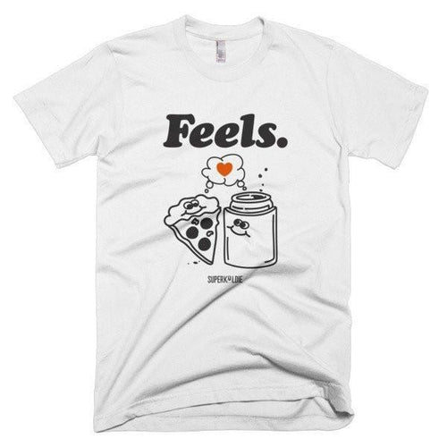 FEELS MEN'S TEE-Tees-White-S-SUPERKOLDIE