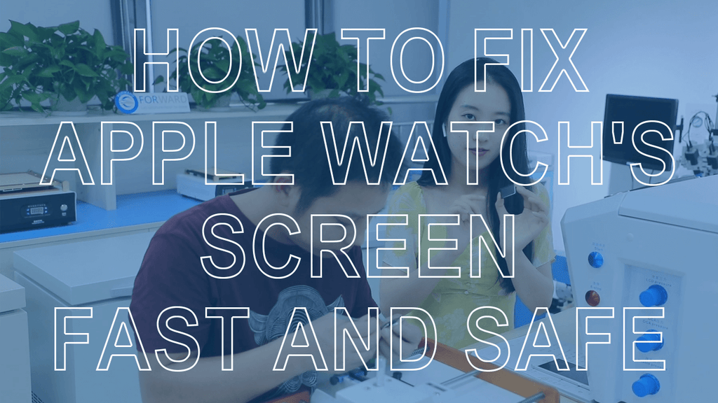 How To Fix Apple Watch's Cracked Screen Fast And Safe
