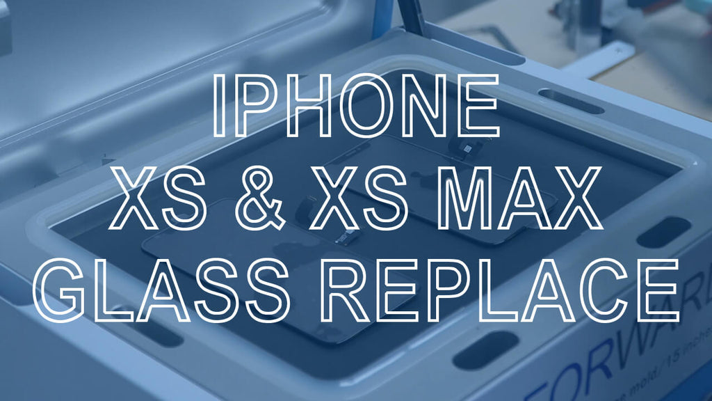 iPhone Xs and Xs Max Glass Replace with CEO-2+ OCA Laminating Machine