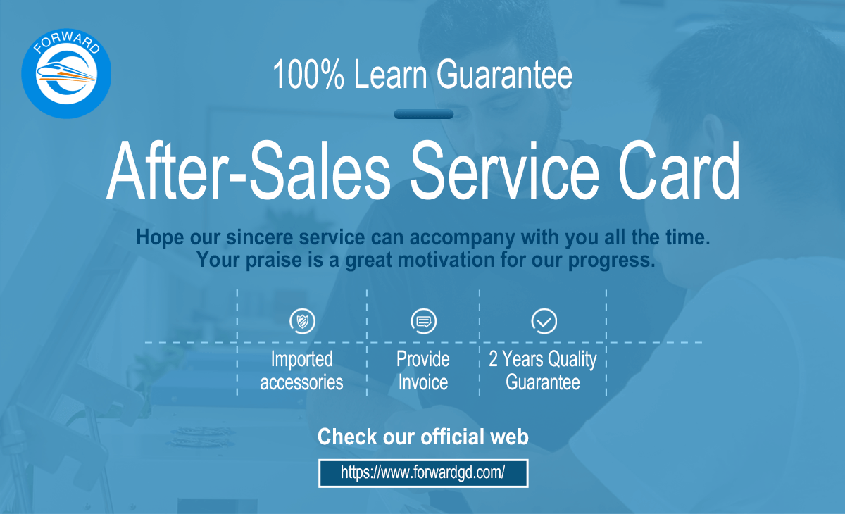 After sales service card