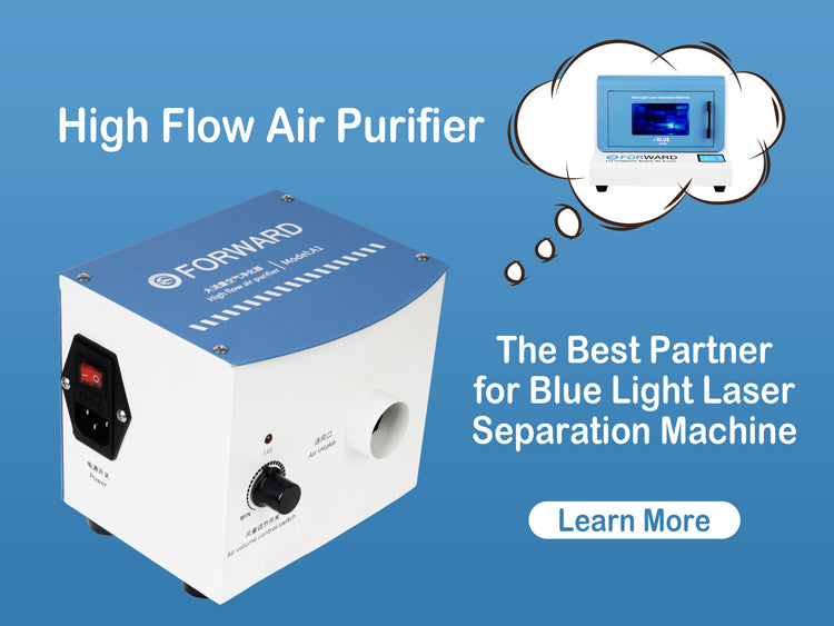 Blue Light Laser Separation Machine & Air Purifier Package