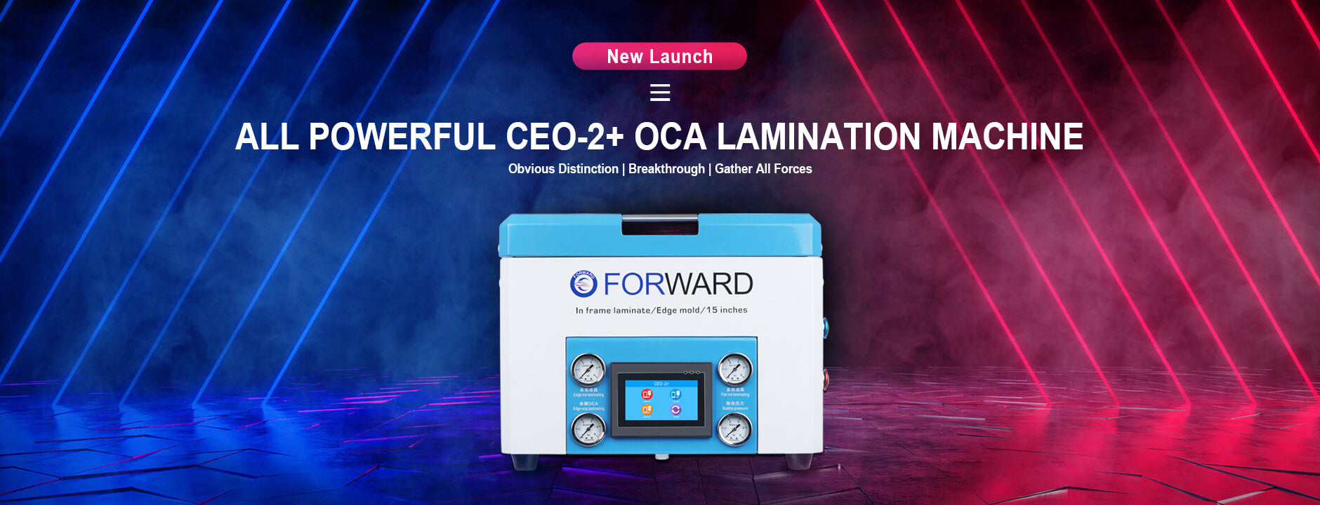 CEO-2+ All Powerful OCA Lamination Machine-web