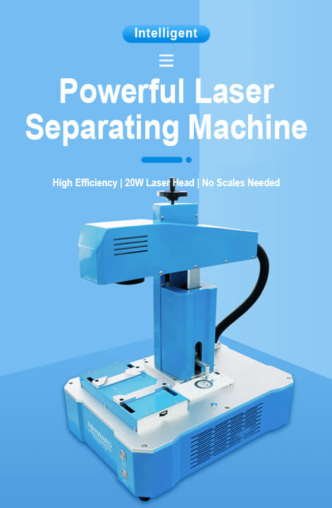 Powerful Laser Sparating Machine-web