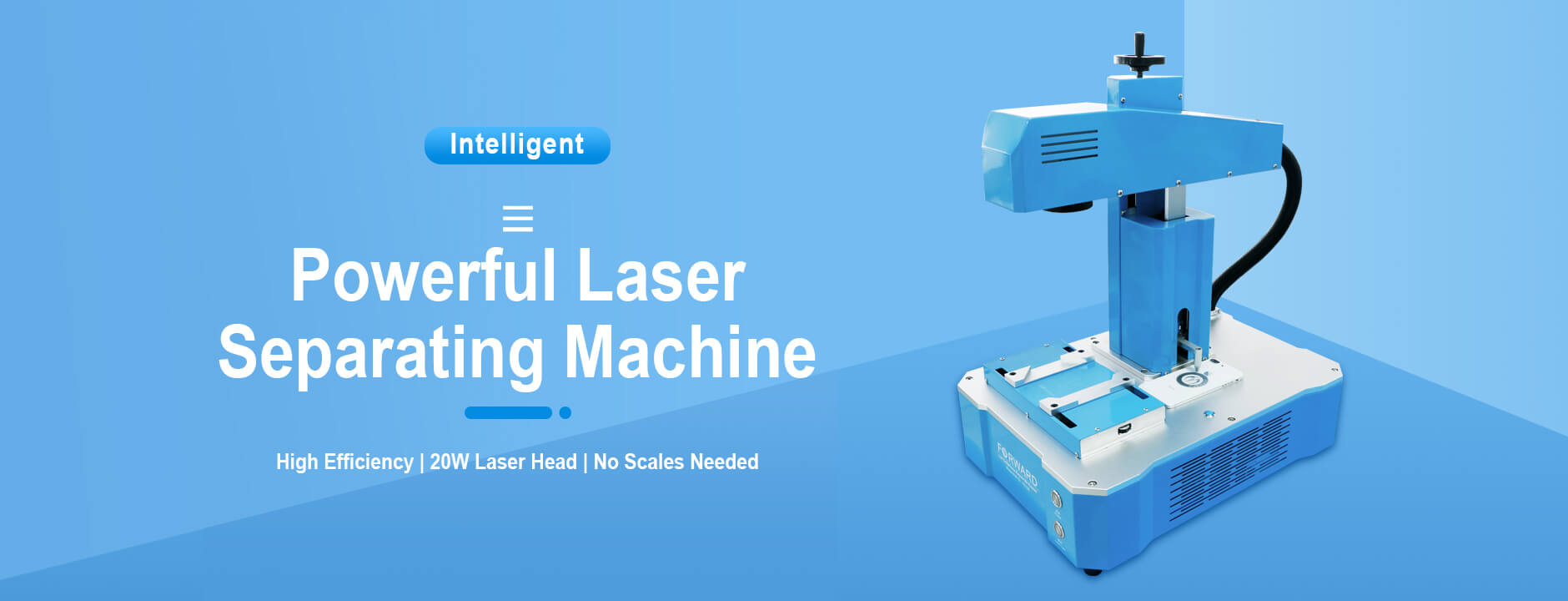 Powerful Laser Sparating Machine