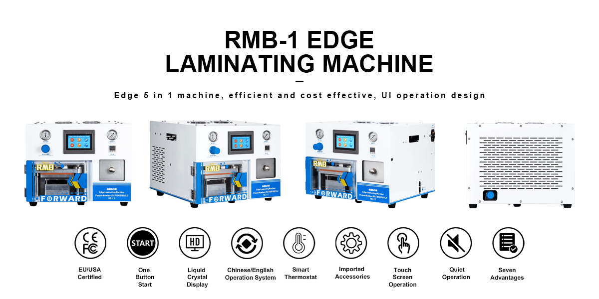 RMB-1 EDGE LAMINATING MACHINE