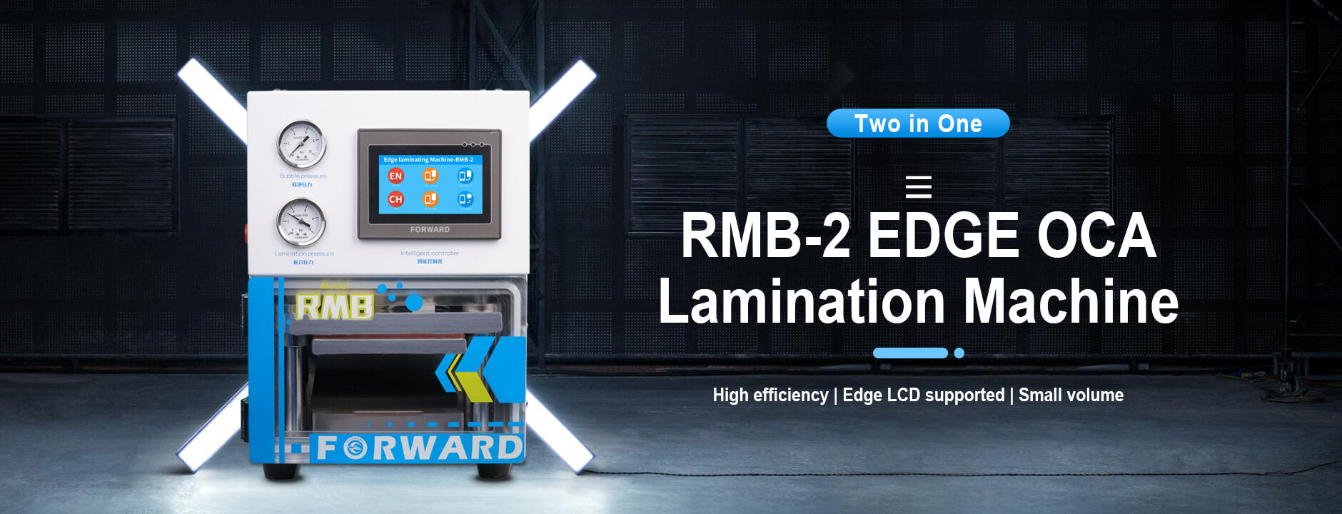 RMB-2 EDGE OCA Lamination Machine
