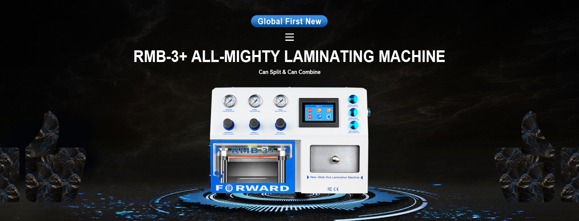 RMB-3 Plus All-Mighty OCA Laminating Machine