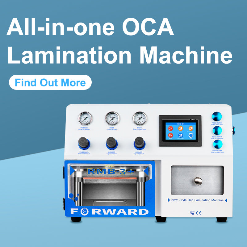 What is OCA lamination machine and how is it affecting phone repair?