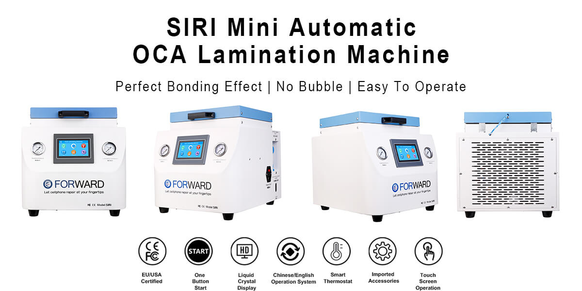 SIRI Mini Automatic OCA Laminating Machine
