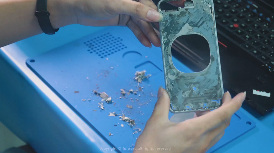 How to Refurbish the Back Glass Without Disassemble-laser separating machine