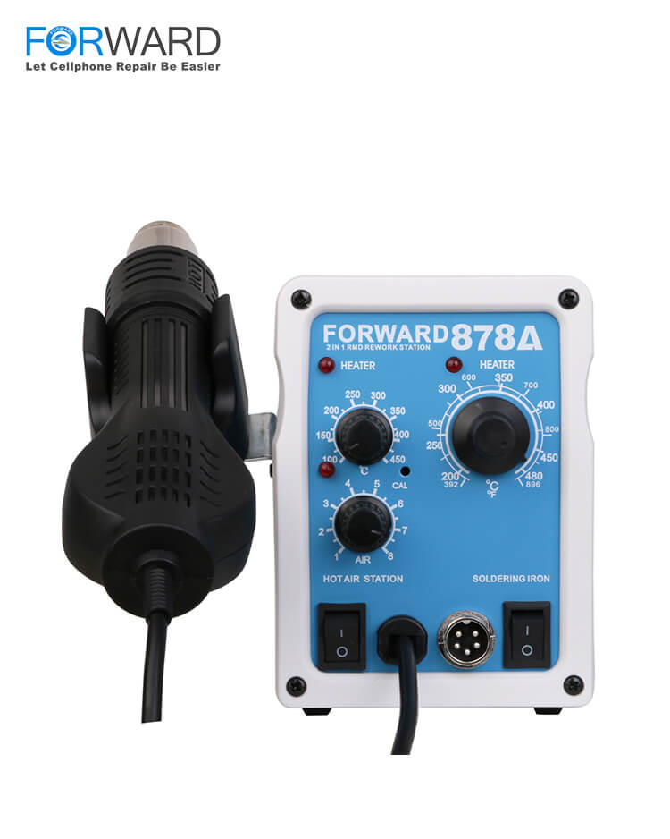 FORWARD 878A Hot Air Gun & Soldering Iron Combination