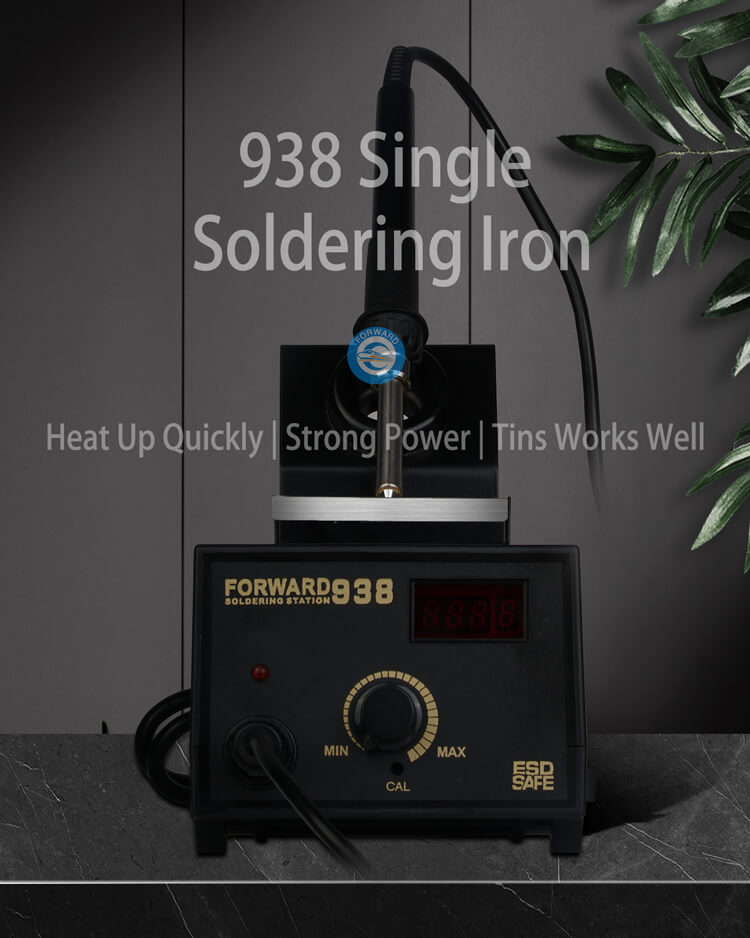 Top 938 Single Soldering Iron Station With Digital Display