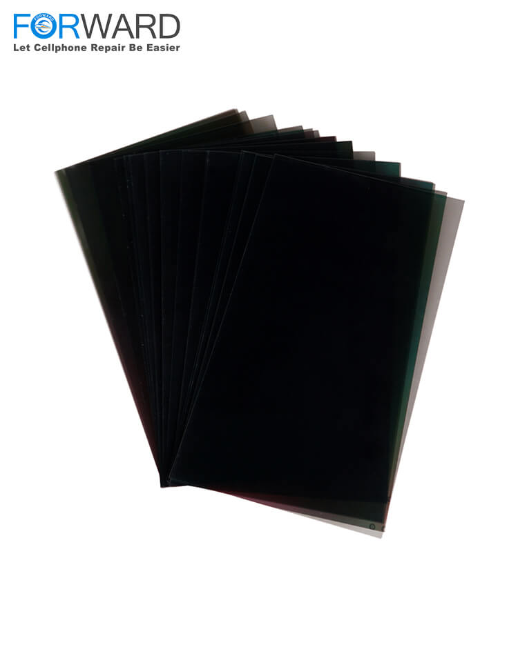 Original Quality LCD Back Polarizer for iPhone Display Touch Screen Repairing - 100pcs
