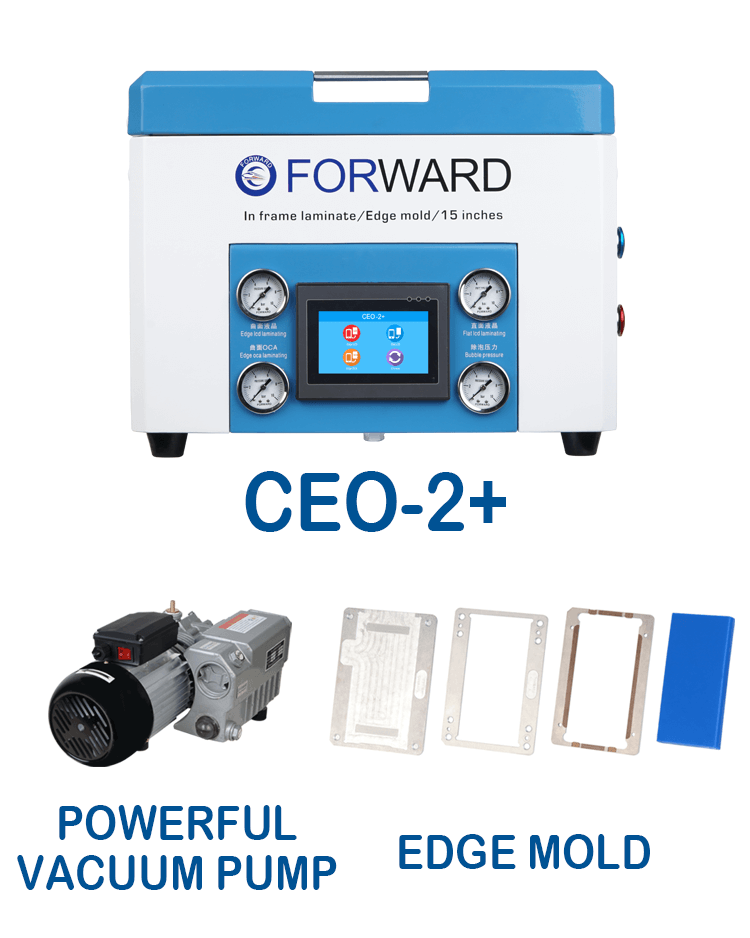 CEO-2+Machine & Powerful Vacuum Pump & 5 Edge Mold