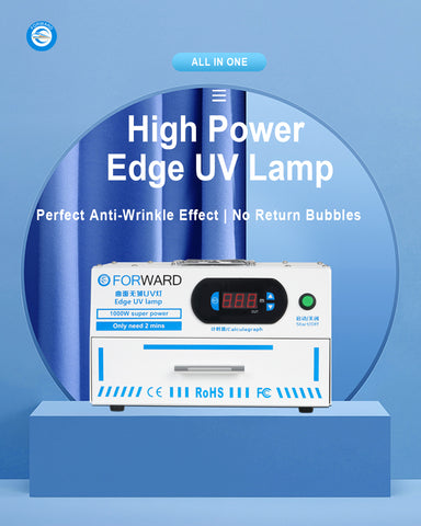 High Power Edge UV Lamp Perfect Anti-Wrinkle Effect No Return Bubbles