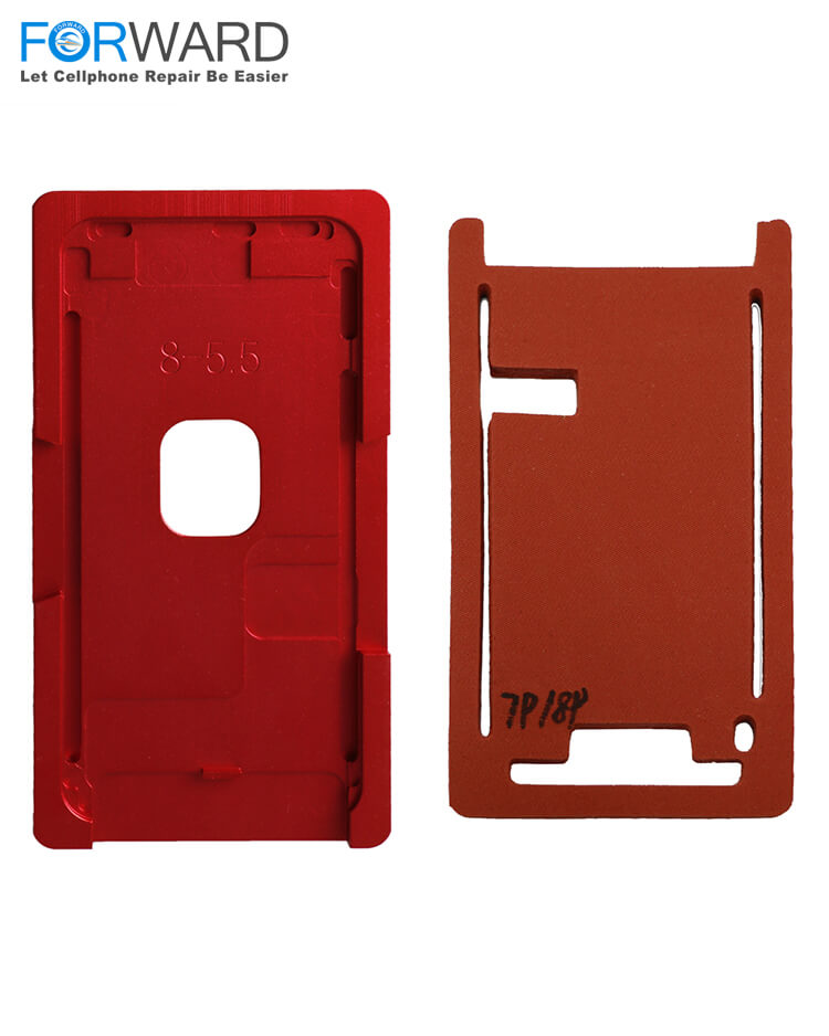 High Precision Glass+Frame Mold+Mat For iPhone 5G/6G/6P/7G/7P/8G/8P/X Broken Screen Repair And Change