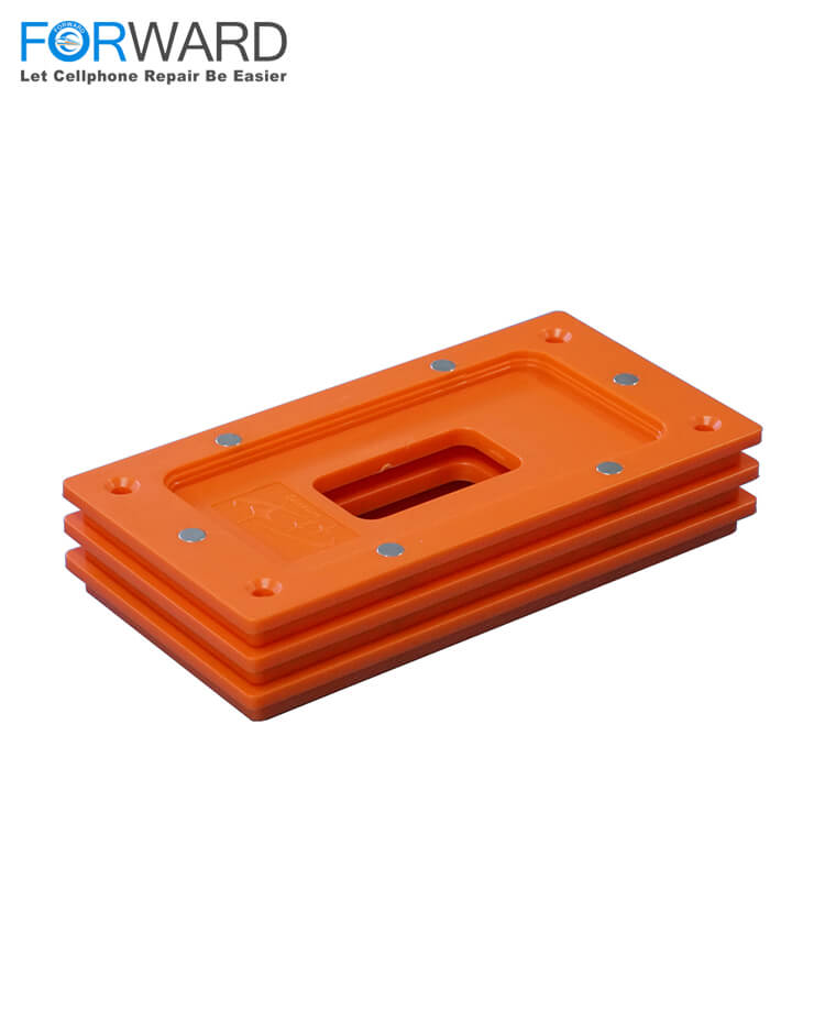 High Precision Orange Clamping Frame Mold For iPhone X Series Broken Screen Repair And Change