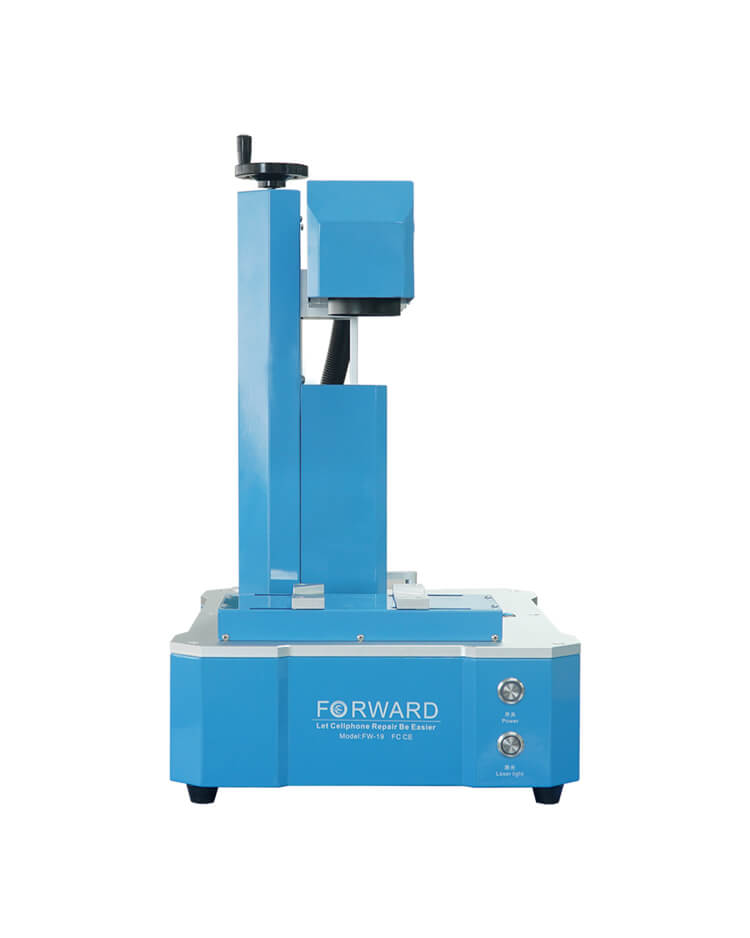 20W Powerful Fiber Laser Separating & Marking Machine - Forward