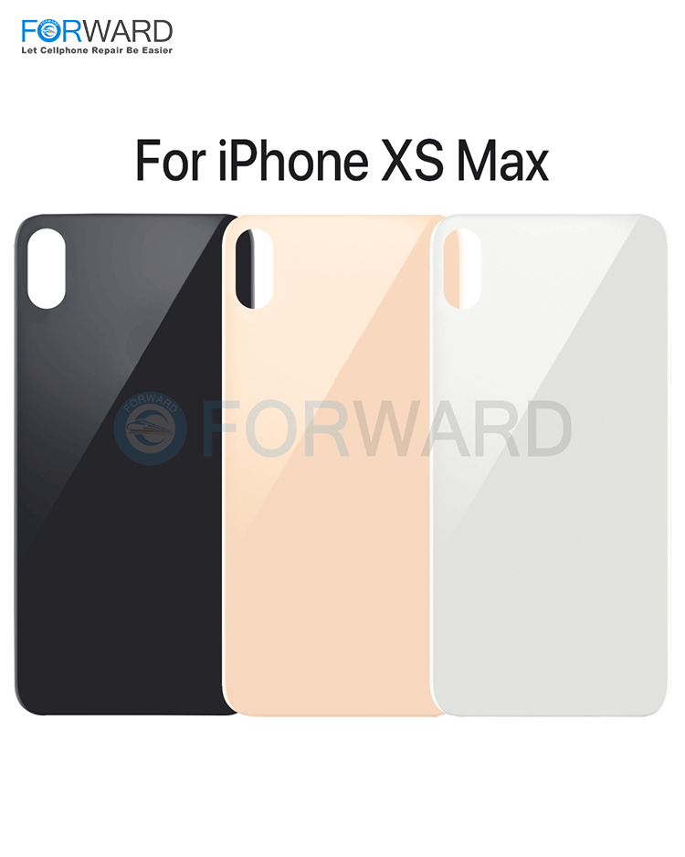 Original Quality Back Glass For iPhone X/XS/XS MAX Back Glass Replacement - (5 Pcs)