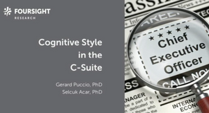 Cognitive Profiles of Executive Leaders