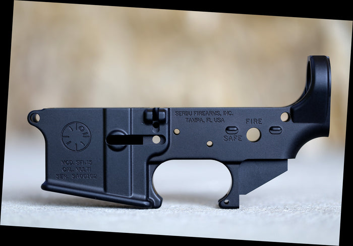 Serbu Firearms, Inc. AR-15 Lower Receiver