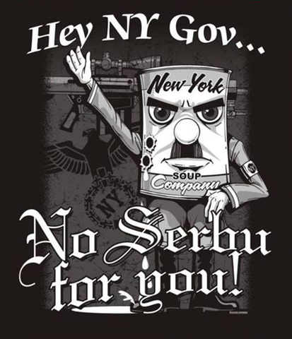 NO SERBU FOR YOU! T-Shirt